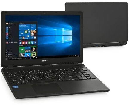 "Ноутбук Acer Extensa EX2540-524C Core i5 7200U/4Gb/2Tb/DVD-RW/Intel HD Graphics 620/15.6""/FHD (1920x1080)/Linux/black/WiFi/BT/Cam/3220mAh"