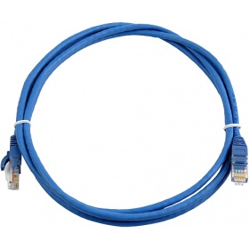 Кабель Patch Cord RJ45, UTP, Cat-5e, PVC, 1,5m, синий Nikomax NMC-PC4UD55B-015-BL