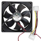 Вентилятор 120x120x25mm Alseye 1225B12H-Т1 FAN (3900rpm, 102.9 CFM, Molex, 48dB)