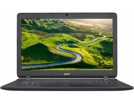 "Ноутбук Acer Aspire ES1-732-P2P8 Pentium N4200/4Gb/1Tb/DVD-RW/Intel HD Graphics 500/17.3""/HD+ (1600x900)/Windows 10/black/WiFi/BT/Cam/3220mAh"