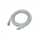 Кабель Patch Cord RJ45, UTP, Cat-6, PVC, 1m, серый Nikomax NMC-PC4UE55B-010-GY