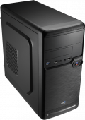Корпус AeroCool Qs-182 (Без Б/П, 1ODD,1FDD, 1HDD, 1SSD, 2USB 2.0+1USB 3.0, HD Audio, размеры 355*170