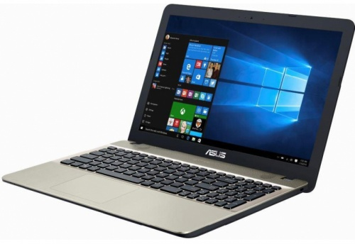 "Ноутбук Asus X541NA-GQ245T Celeron N3350/4Gb/500Gb/Intel HD Graphics 500/15.6""/HD (1366x768)/Windows 10/black/WiFi/BT/Cam"