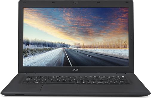 "Ноутбук Acer TravelMate TMP278-MG-38X4 Core i3 6006U/4Gb/1Tb/DVD-RW/nVidia GeForce 940M 2Gb/17.3""/HD+ (1600x900)/Linux/black/WiFi/BT/Cam/2500mAh"