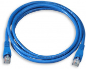 Кабель Patch Cord RJ45, UTP, Cat-5e, PVC, 3m, синий Gembird PP12-3M/B