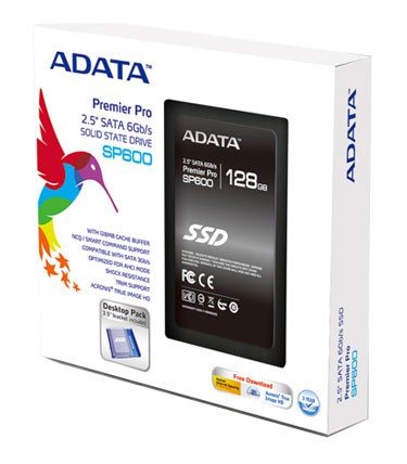 "Накопитель SSD A-Data 128Gb SP600 2.5"" w505Mb/s (ASP600S3-128GM-C)"