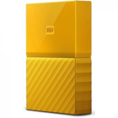 "Жесткий диск WD Original USB 3.0 3Tb WDBUAX0030BYL-EEUE My Passport 2.5"" желтый"