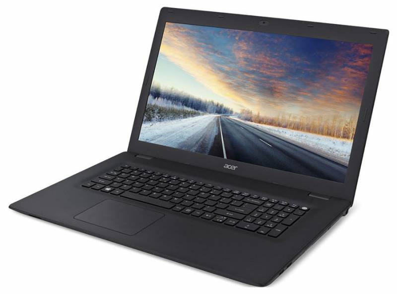 "Ноутбук Acer TravelMate TMP278-MG-30DG Core i3 6006U/4Gb/1Tb/DVD-RW/nVidia GeForce 920M 2Gb/17.3""/HD+ (1600x900)/Linux/black/WiFi/BT/Cam/2550mAh"