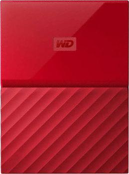 "Жесткий диск WD Original USB 3.0 3Tb WDBUAX0030BRD-EEUE My Passport 2.5"" красный"