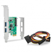Плата расширения HP USB 3.0 4Port SuperSpd PCIe x1 Crd (QT587AA)