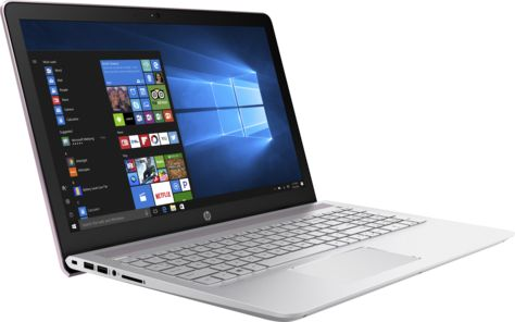 "Ноутбук HP Pavilion 15-cc536ur Core i7 7500U/8Gb/2Tb/SSD128Gb/nVidia GeForce 940MX 4Gb/15.6""/IPS/FHD (1920x1080)/Windows 10/pink/WiFi/BT/Cam"