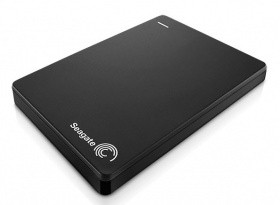 "Жесткий диск Seagate Original USB 3.0 1Tb STDR1000200 Backup Plus Slim 2.5"" черный"