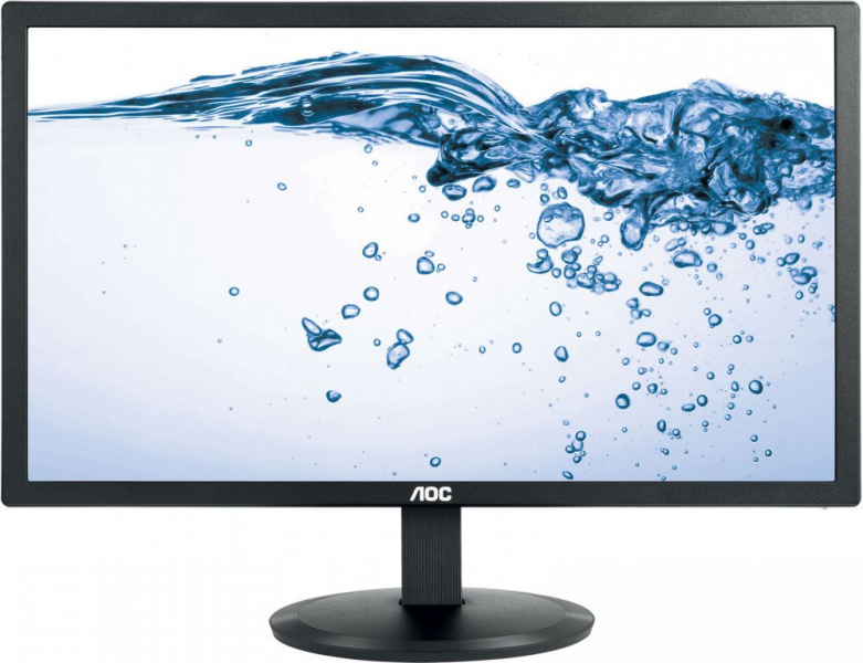 "Монитор AOC 21.5"" E2280SWN(/01) черный 1920x1080, TN, 5ms, 200cd, 700:1, 90°/65°, D-Sub"