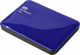 "Жесткий диск 2.5"" EXT 1000Gb, USB 3.0, WD WDBDDE0010BBL-EEUE (BLUE)"