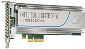 Накопитель SSD Intel PCI-E x4 1228Gb SSDPEDMX012T701 DC P3520 PCI-E AIC (add-in-card)