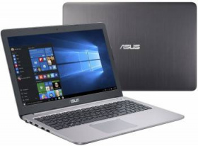 "Ноутбук Asus K501UX-DM282T Core i7 6500U/8Gb/1Tb/nVidia GeForce GTX 950M 2Gb/15.6""/FHD (1920x1080)/Windows 10/grey/WiFi/BT/Cam"