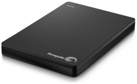 "Жесткий диск Seagate Original USB 3.0 2Tb STDR2000200 Backup Plus Slim 2.5"" черный"