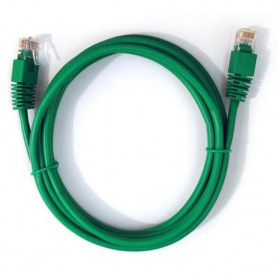 Кабель Patch Cord RJ45, UTP, Cat-5e, PVC, 0,5m, зеленый Gembird PP12-0.5M/G