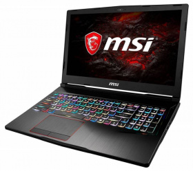 "Ноутбук MSI GE63VR 7RF(Raider)-058RU Core i7 7700HQ/16Gb/1Tb/SSD128Gb/nVidia GeForce GTX 1070 8Gb/15.6""/FHD (1920x1080)/Windows 10/black/WiFi/BT/Cam"
