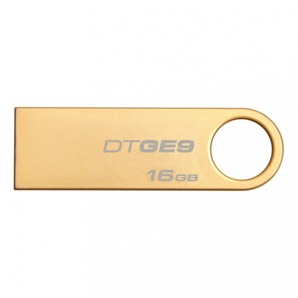 Флэшка 16Gb USB 2.0 Kingston DataTraveler GE9 (DTGE9/16GB), металл