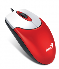 Мышь Genius NetScroll 120 V2 1000dpi, USB, Red