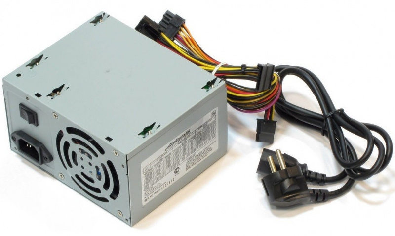 Блок питания LinkWorld LW2-400W (400W, 3xSATA, 2xMOLEX, 1xFDD, 80mm)