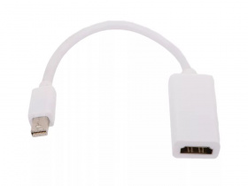 Кабель Display Port, переходник, mini DisplayPort --> HDMI, Telecom (TA6055)