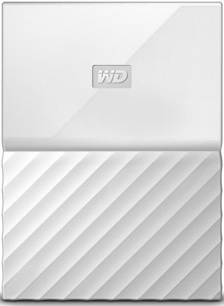"Жесткий диск WD Original USB 3.0 1Tb WDBBEX0010BWT-EEUE My Passport 2.5"" белый"