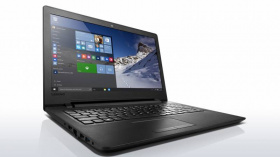 "Ноутбук Lenovo IdeaPad 110-15ACL E1 7010/4Gb/500Gb/DVD-RW/AMD Radeon R2/15.6""/HD (1366x768)/Free DOS/black/WiFi/BT/Cam"