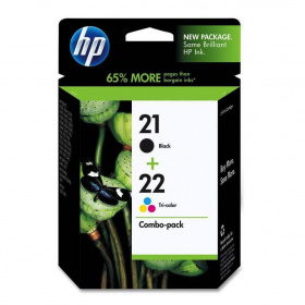 Картридж HP SD367AE №21/22 Cartridge 2 Pack Black+Color - DJ3900/D1400/D1500 Combo Pack